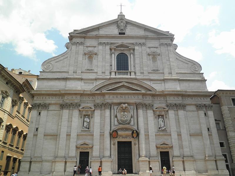 Due chiese dei Gesuiti: Romaの...